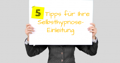 Fünf Tipps zur effektiven Selbsthypnose-Induktion