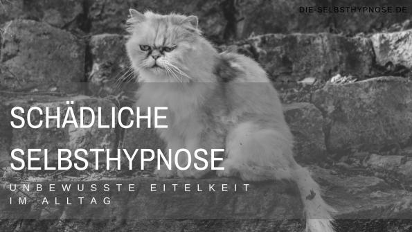 Schädliche Selbsthypnose - Unbewusste Eitelkeit im Alltag
