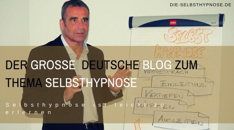 Der große deutsche Blog zum Thema Selbsthypnose