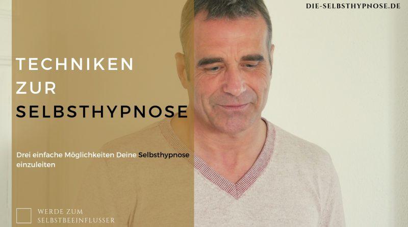 Techniken zur Selbsthypnose