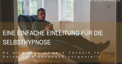 Eine einfache Einleitung für die Selbsthypnose